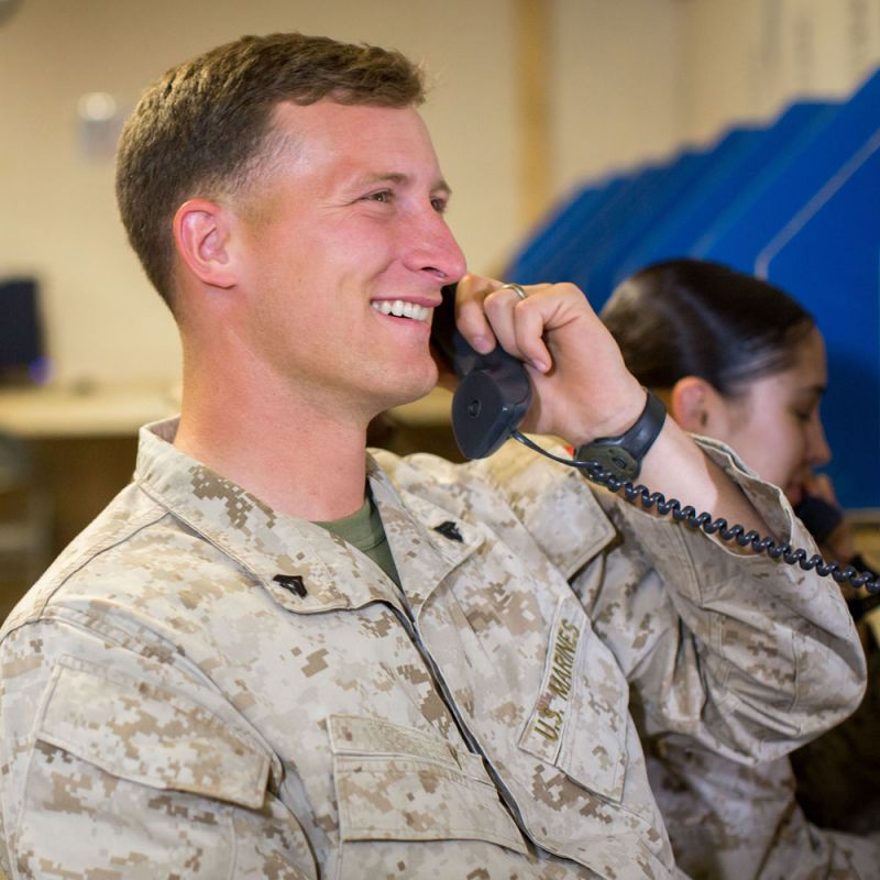 Troops Phone Call Home